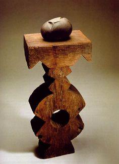 Brancusi sculpture ''The First Cry'' 1917 Brancusi Sculpture, Art Sculpture, Modern Sculpture, Abstract Sculpture, Mondrian, Modern Art, Contemporary Art, Bric À Brac, Constantin Brancusi