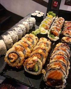 I Love Food, Good Food, Yummy Food, Sushi Recipes, Cooking Recipes, Big Mac, Jai Faim, Food Places, Food Is Fuel