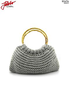 Crochet purse Fiorentina.