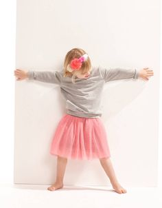 Dancing skirt pink | Supercilious-kids: for early babies till cool juniors!