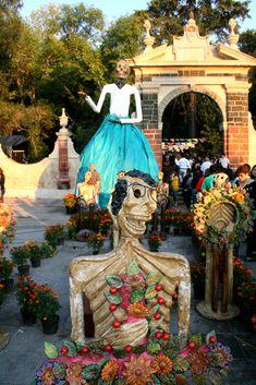 Dia de Muertos en Tepotzotlan