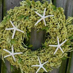 Beachy Wreath Beachy Centerpiece by BeachyWreaths on Etsy