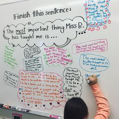 #throwbackthursday because I miss my students AND my whiteboard. #miss5thswhiteboard