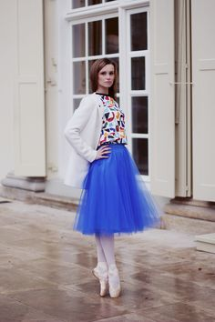 Blouse and skirt available at www.metkabaletka.pl