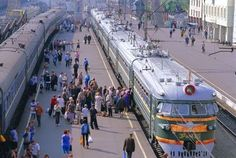 trans-siberian railway from beijing to st. petersburg