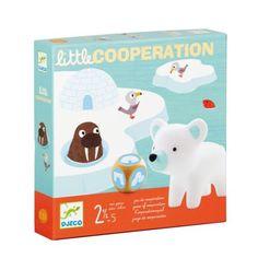 Ce jeu de coopération apprend aux plus petits à jouer et à gagner ensemble, les uns avec les autres. Les 4 animaux voudraient rentrer dans leur igloo, de l'autre côté du pont de glace. Seul le dé décide si les joueurs peuvent avancer leurs pions ou s'ils doivent retirer un élément du pont et le fragiliser un peu plus. La seule solution pour gagner : s'allier pour que l'ours, le pingouin et leurs amis regagnent leur maison de glace avant que le pont ne s'écroule. L'union fait toujours la…