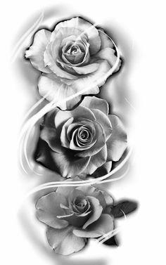 Tatuagem de rosa rose tattoo #RoseTattooIdeas