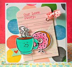 Creative_Knockout_Challenge # 77_Spots & Dots_Drawn_With_Character_Wegotogetherlikecoffeeanddonuts