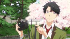 Tada Never Falls in Love (Tada-kun wa Koi wo Shinai) Episode 1 Official Anime Screenshot Cute Anime Guys, All Anime, Manga Anime, Anime Art, Cute Characters, Anime Characters, Koi, Amaama To Inazuma, Nijiiro Days