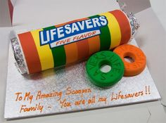Life Savers cake made by Corporate Cakes Melbourne
