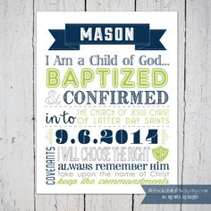 Lds Baptism Gift Ideas For Boys Google Search Baptism