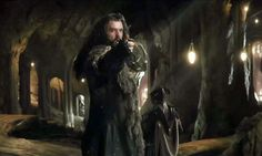 """""""I would not trust Thranduil, the great king, to honor his word should the end of all days be upon us! YOU LACK ALL HONOR! I have seen how you treat your friends. We came to you once - starving, homeless, seeking your help - but you turned your back. You turned away from the suffering of my people, and the inferno that destroyed us. IMRID AMRAD URSUL."""""""