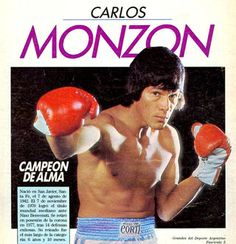 Carlos Monzon Boxing Posters, Boxing History, Mixed Martial Arts, How To Introduce Yourself, People, Boxing, Dads, Champs, Athlete