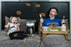 Una madre nasce contemporaneamente a suo figlio. Un padre a volte aspetta degli anni prima di nascere... Buona festa del Papà da carillobiancheria.it