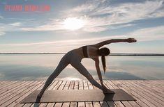 Йога на каждый день. Поза перевернутого треугольника