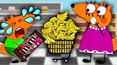 FOX FAMILY Mommy & Kids at The SUPERMARKET New Episodes! Finger Family S...