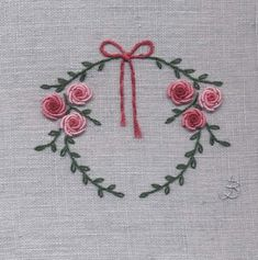 Wonderful Ribbon Embroidery Flowers by Hand Ideas. Enchanting Ribbon Embroidery Flowers by Hand Ideas. Embroidery Designs, Embroidery Sampler, Silk Ribbon Embroidery, Embroidery Hoop Art, Hand Embroidery Patterns, Floral Embroidery, Cross Stitch Embroidery, Pinterest Crochet, Bordado Floral
