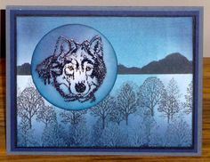 Evening Sky by breadbaker - Cards and Paper Crafts at Splitcoaststampers