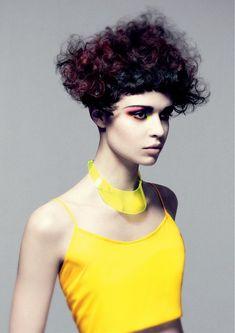 Vidal Sassoon - long black curly hair styles (20235)