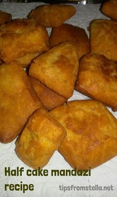 I will not lie to you, I do not know why we call them half cake mandazi, but I love to munch on them lately. I recently shared a photo with a friend and she asked me for the recipe. I thought I had this recipe up already but then I realized I