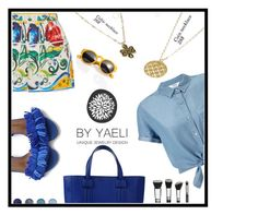 """Yaely Jewelry (8)"" by albinnaflower ❤ liked on Polyvore featuring Miss Selfridge, Dolce&Gabbana, Emanuel Ungaro and Terre Mère"