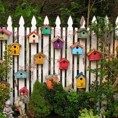A Village for the feathered friends and a nice feature in the garden!