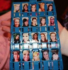 Cute Big/Little Reveal: Guess Who? Could do this with Headbandz too! Gamma Sigma Sigma, Delta Phi Epsilon, Alpha Omicron Pi, Kappa Delta, Alpha Phi Omega, Alpha Sigma Alpha, Chi Omega, Big Little Week, Big Little Reveal