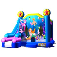086f65c64d How To Buy Low-price And Best Bubble Mermaid Bouncer Combo Seven  Our  Provide Commercial Bounce House