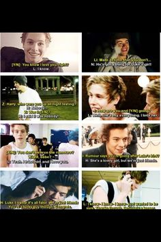 Imagine you're dating Luke but you've been talking to Harry a lot. why would someone dO THIS?!