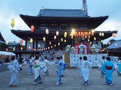 Bon Festival dance Japan