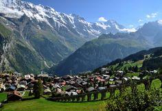 Mountain Village - Wengen, Switzerland