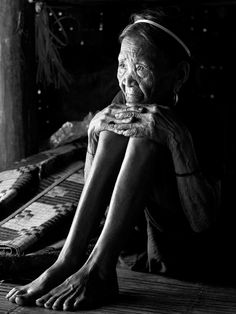 People | VietNam. Old can be beautiful, it can also be lonely and frightening.