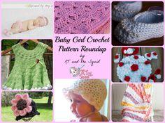 baby girl crochet pattern roundup