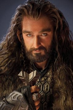 Handsome Thorin Oakenshield ~ Richard Armitage in The Hobbit. I want to draw this!!