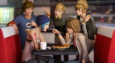 Life is strange. They're not fans of the gay.