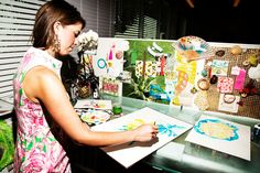 Even more Lilly inspiration: Paige Smith, 30, Senior Designer @LillyPulitzer #LillyPulitzer