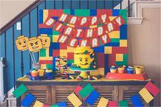Dessert Table from a Lego Birthday Party via Kara's Party Ideas KarasPartyIdeas.com (11)