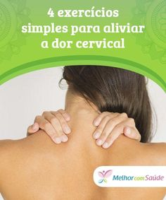 Dor Cervical, Canal E, Health And Beauty, Floral, How To Handle Stress, Stress At Work, Bad Posture, Chronic Stress, Alternative Health