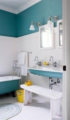 Great Idea for kids bathroom, but not alot of storage area