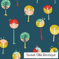 Happy Trees KNIT - BIRCH - 100% certified organic cotton knit