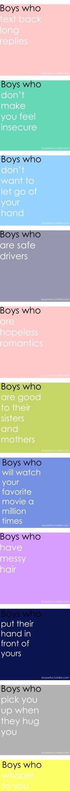 I want a boy like this!