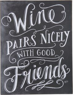 "A great piece for your bistro style kitchen or bar. A perfect gift for the wine enthusiast. ""Wine pairs nicely with good friends."" - measures 13"" x 17"" - made from wood - imported"