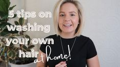 5 tips on washing your hair at home   Blonde Hair Tips - YouTube Blonde Hair Tips, Hair Colour, Color, Hair Hacks, Hair Cuts, Tutorials, T Shirts For Women, Youtube, Instagram