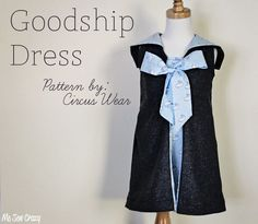 Me Sew Crazy: Goodship Dress by Circus Wear, a Very Go To Christmas; http://www.mesewcrazy.com/2012/12/goodship-dress-by-circus-wear-very-go.html