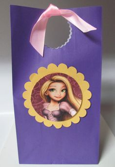 12 Repunzel Tangled Inspired Favor Candy by KhloesKustomKreation, $20.00
