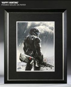 Sideshow showcases some breathtaking Halo ODST prints