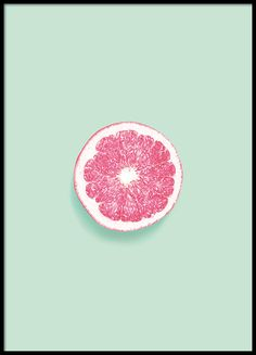 Poster of a lovely grapefruit