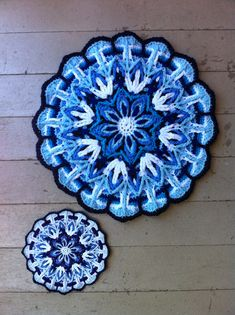 Crochet Overlay Mandala No. 1 Pattern PDF                                                                                                                                                                                 More