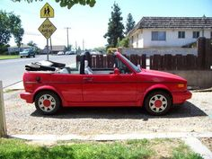 """Volkswagen Cabriolet, I wanted one of these cars since the moment I saw it in """"Can't Buy Me Love""""."""