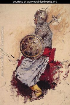 Man In Armour - Edwin Lord Weeks - www.edwinlordweeks.org